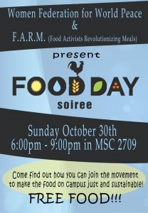 Food Day Soiree