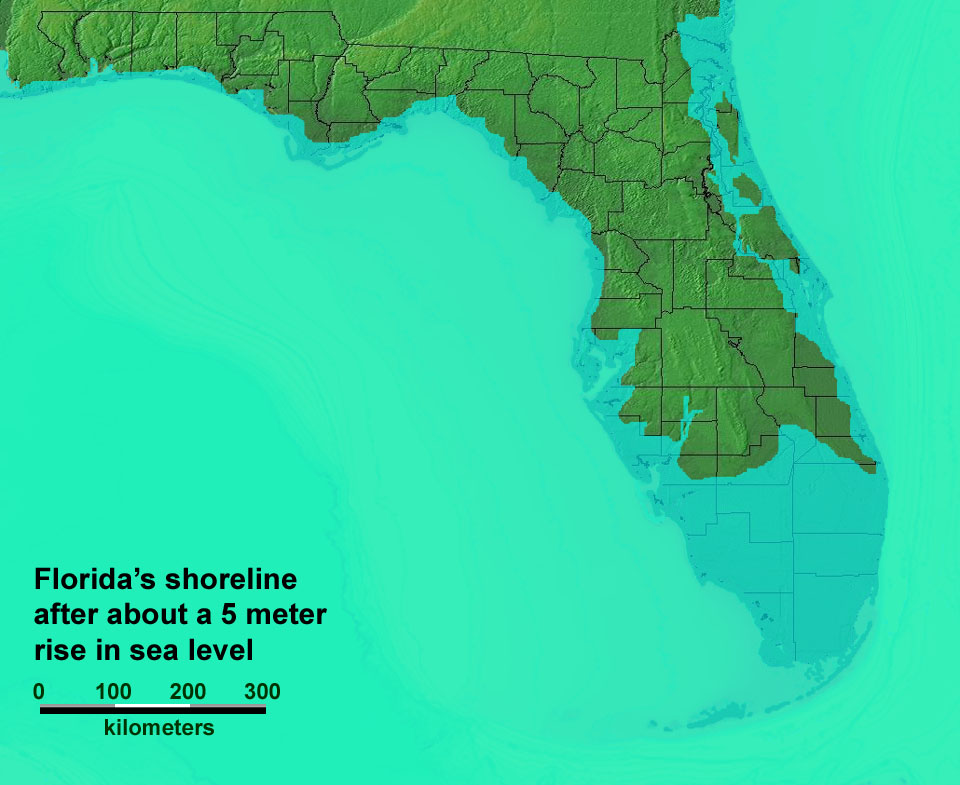 Florida Map In 50 Years Verkuilenschaaij