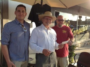 Jacob Freid, Dell deChant, and Bryan Hackman at Cotee River Brewing Company